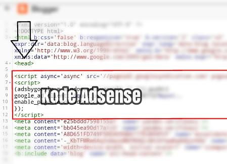 cara+menempelkan+kode+adsense