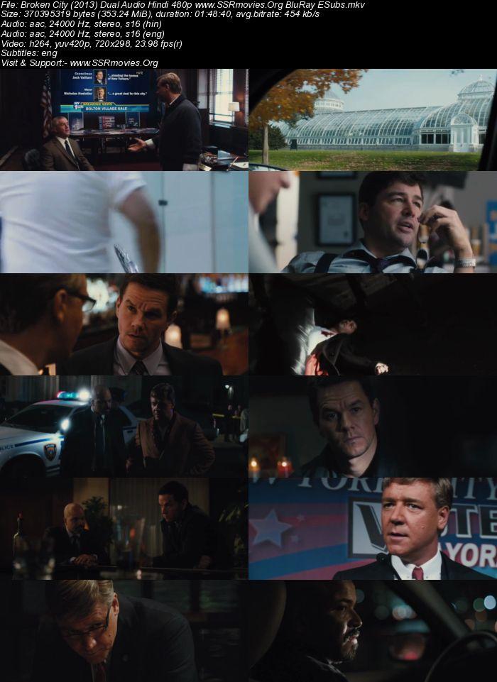 Broken City (2013) Dual Audio Hindi 720p BluRay