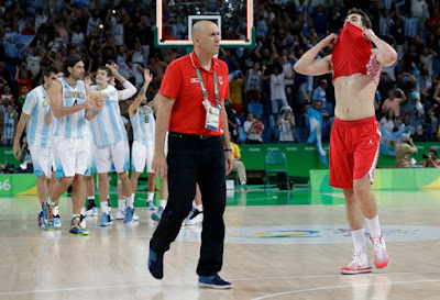Argentina Drops Croatia in Men's Basketball in Olympics 2016