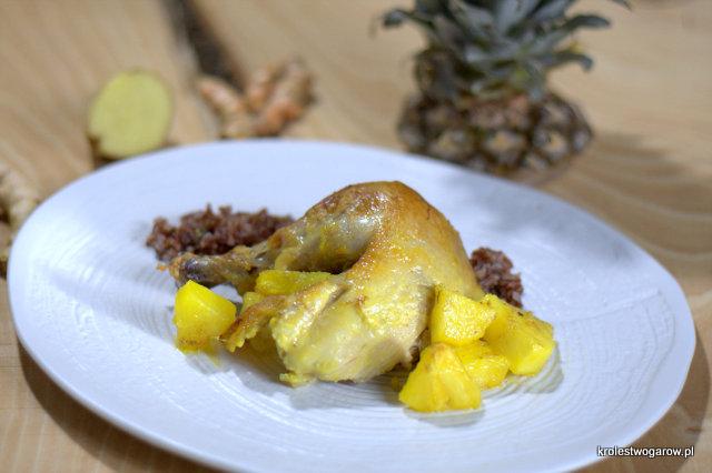 Blog O Gotowaniu Tradycyjna Kuchnia Kurczak Pieczony Z Ananasem
