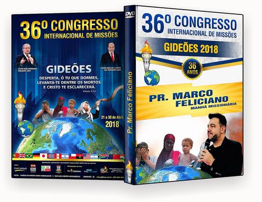 CAPA DVD – Gideões 2018 – Pr. Marco Feliciano 2018 – ISO
