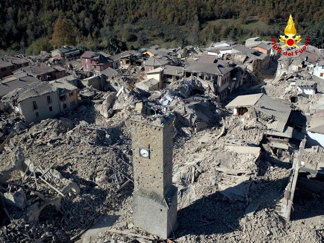Powerful Italy quake spares lives, but strikes at identity
