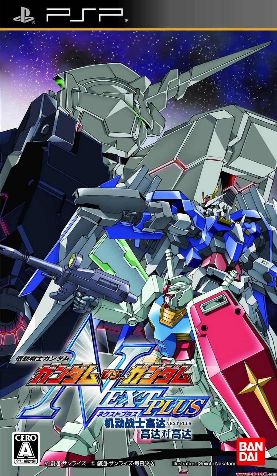 Psp Kidou Senshi Gundam Gundam Vs Gundam Next Plus