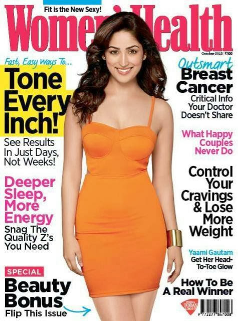 Yami Gautam-Get Her Head To Toe Glow at October issue of Women's Health