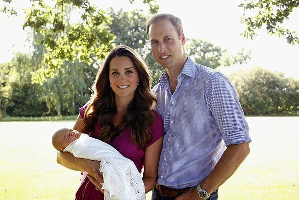 Duchess Catherine and Prince William waiting for her second child
