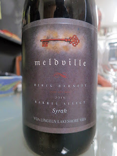 Meldville Syrah Barrel Select 2016 (90+ pts)