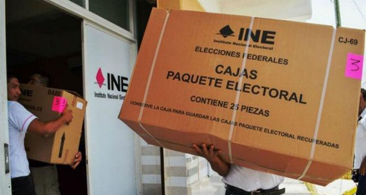 Sujetos armados roban más de 11 mil boletas electorales en Tabasco.