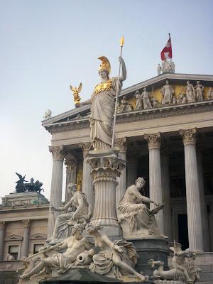 Pallas Athene Statue by Igor L.