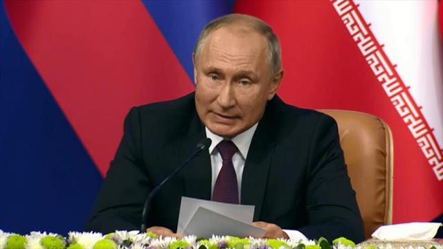 Putin prioriza la erradicación total de terroristas en siria