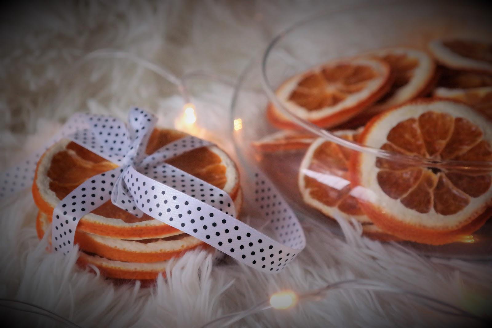 Świąteczne przygotowania z Sunflower - suszone pomarańcze