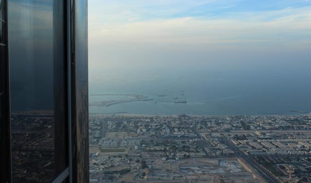 Vistas desde el Burj Khalifa