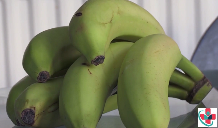 Green bananas (Matoke)