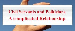 Civil Servants and Politicians