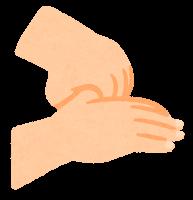 手指消毒のイラスト6