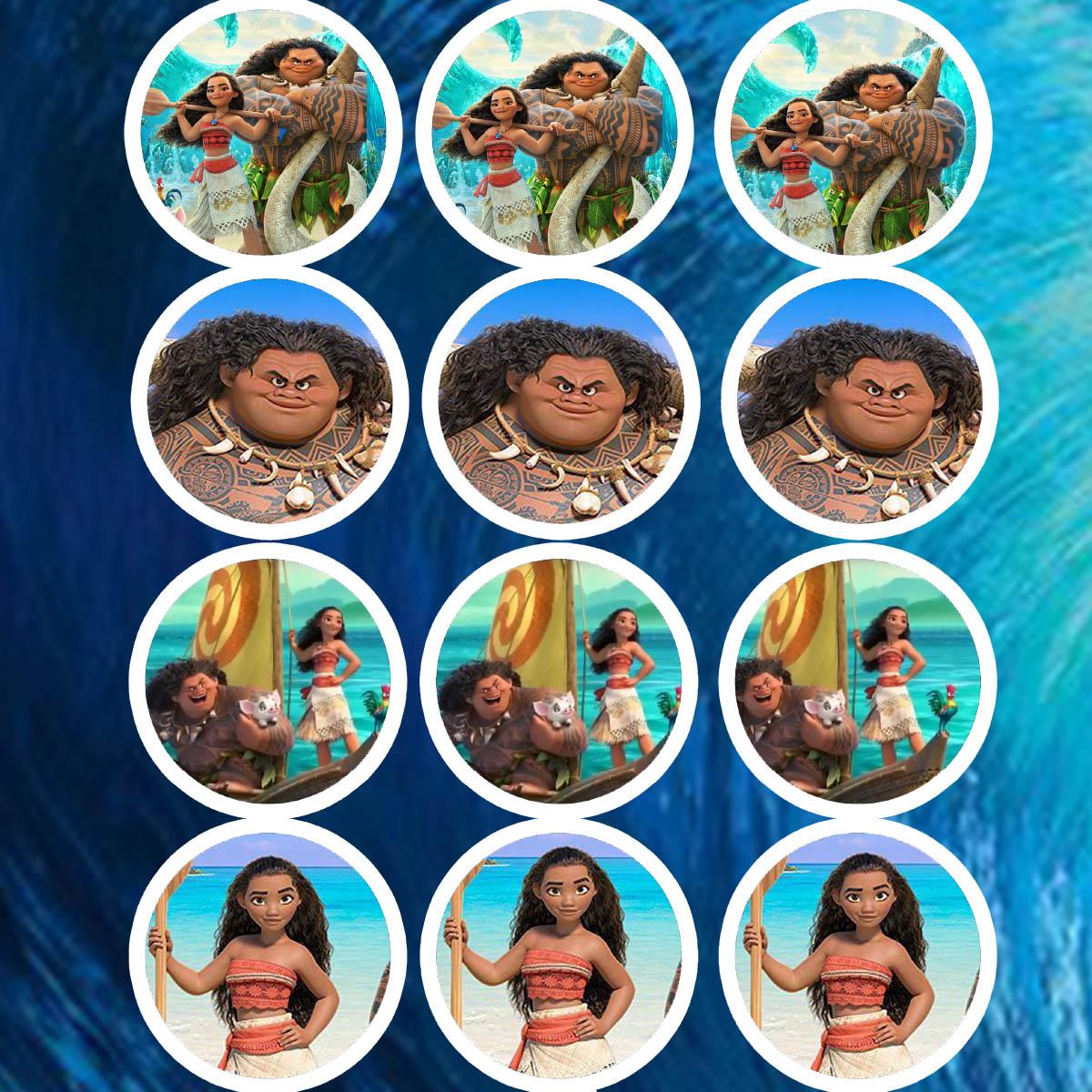 Daisy Celebrates Moana Birthday Party Printable Files