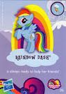 My Little Pony Wave 9 Rainbow Dash Blind Bag Card