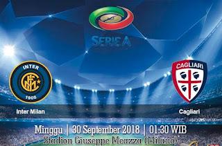 Prediksi Inter Milan vs Cagliari 30 September 2018