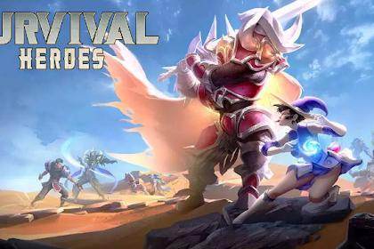 Download game moba Survival heroes battle royale Apk mod terbaru