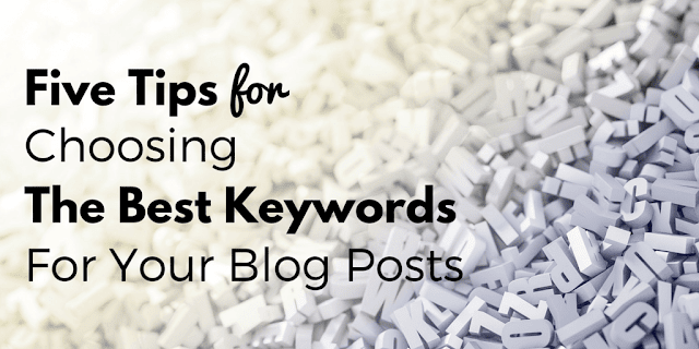 Choosing the Best Keywords for Your Posts