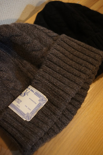 THE H.W.DOG&CO CASHMERE KNIT CAP
