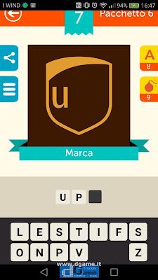 Iconica Italia Pop Logo Quiz soluzione pacchetto 6 livelli 7-100