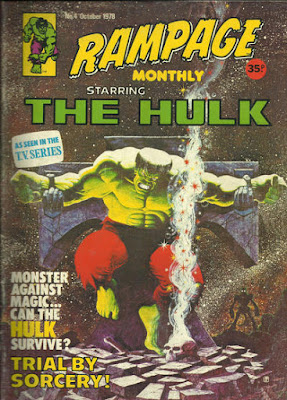 Rampage Monthly #4, the Incredible Hulk, crucified, jim starlin cover