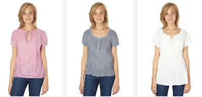 Blusas para mujer de manga corta