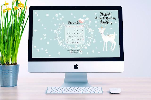 fondo de pantalla wallpaper freebie diciembre monerias pamonisimayo
