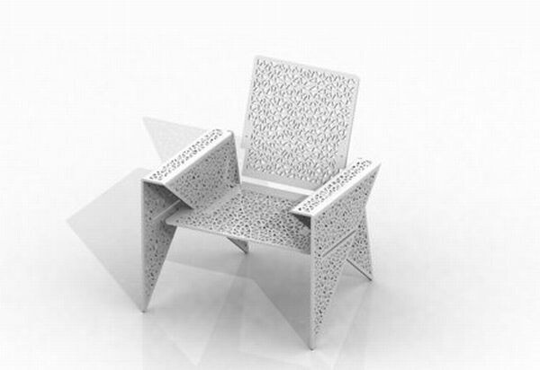 Origami Inspired Chair Design - Bonjourlife - photo#18