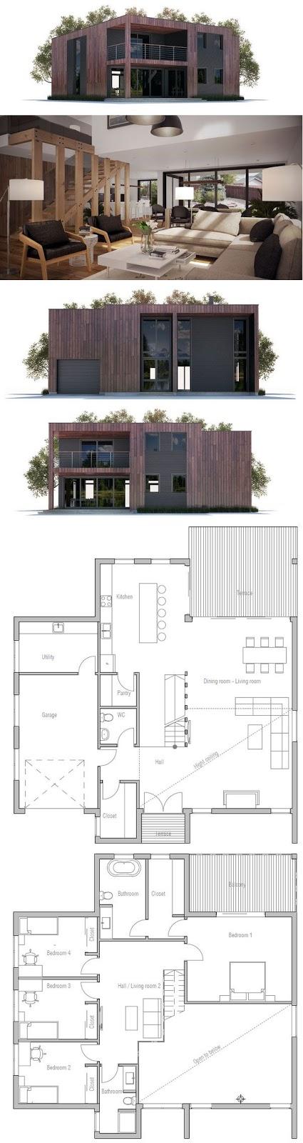 Planos gratis de casas modernas en bogota licencias de for Casa moderna bogota