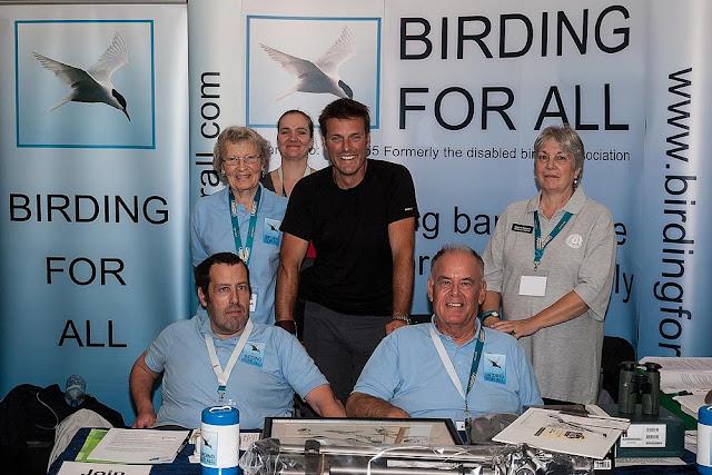 Birding for all team meets Nick Baker