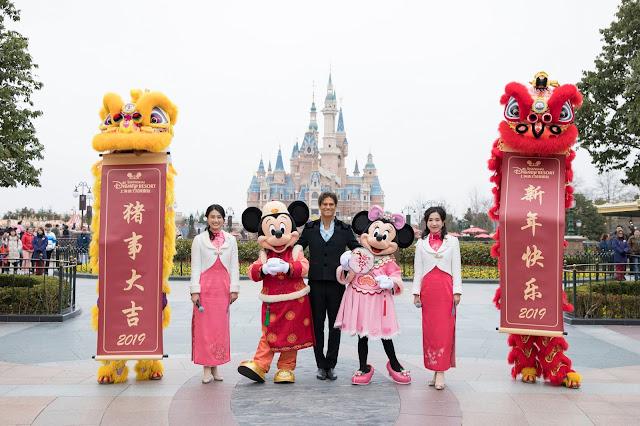 上海迪士尼度假區 2019年新春團拜