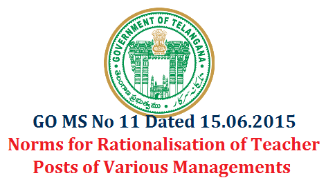 go-ms-no-11-norms-for-rationalisation-teacher-posts-sgt-sa-lp-telangana-various-managements