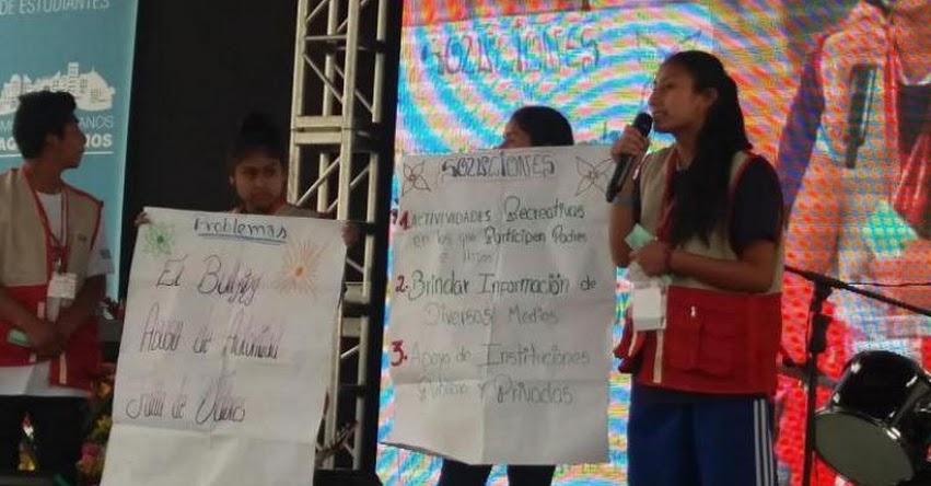 DRELM: Más de 1500 líderes escolares presentan recomendaciones para mejorar la educación - www.drelm.gob.pe