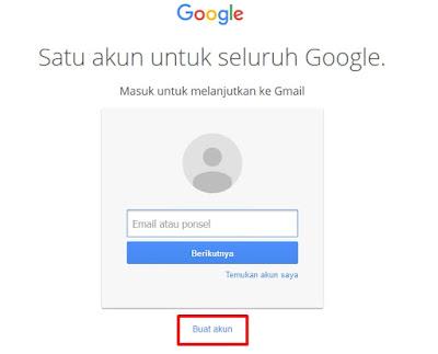 Cara buat email di google gratis mudah dan cepat