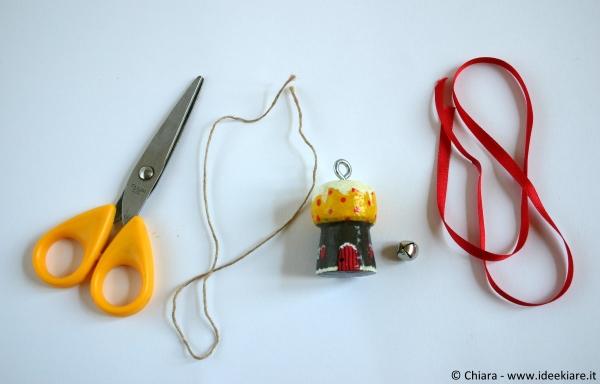 Come creare decorazioni natalizie con i tappi dello spumante