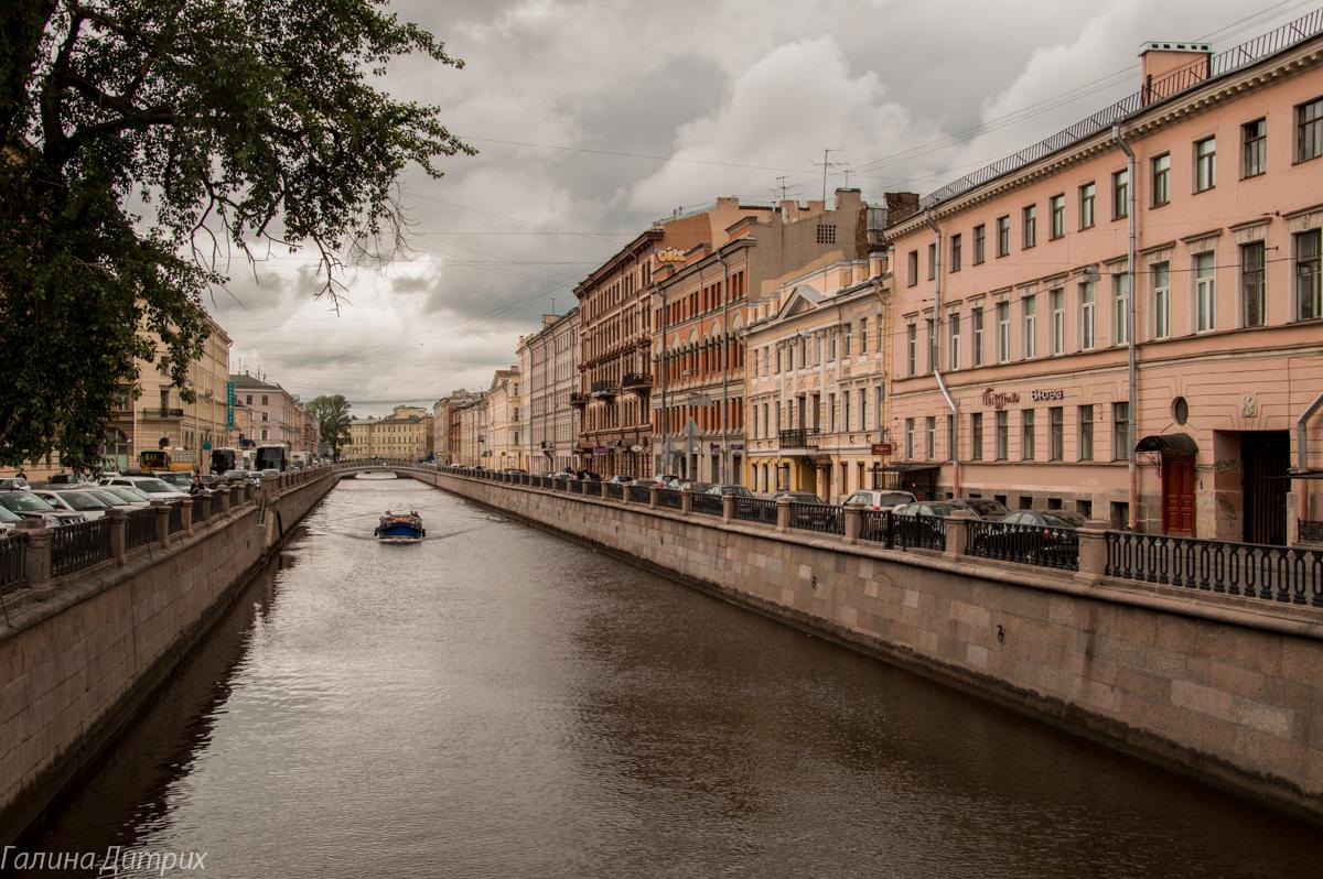 Вид с Банковского моста фото
