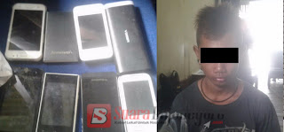 Dari Rekaman CCTV,  Pencuri Ini Ditangkap Di Ngraho