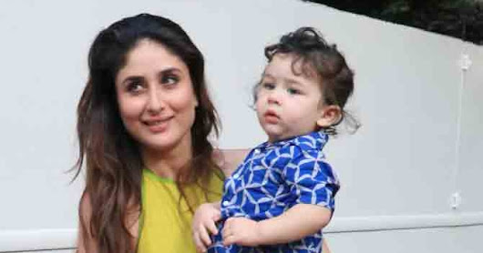 Taimur Khan images with Kareena Kapoor Khan