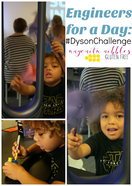 Engineers for a Day: #DysonChallenge | Anyonita Nibbles