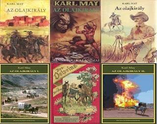 Karl May Az olajkirály könyv bemutatás