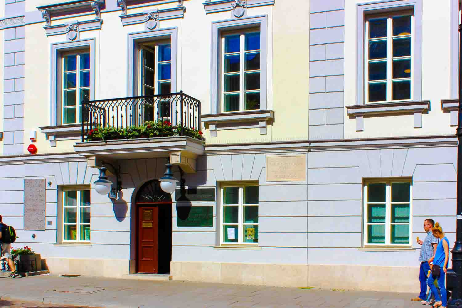 birthplace of Marie Curie Warsaw