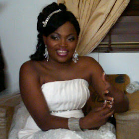 4 Wedding photos: Funke Akindele weds Kenny Almaroof
