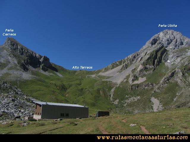 Ruta Tuiza de Arriba-Peña Ubiña: Refugio de Meicín