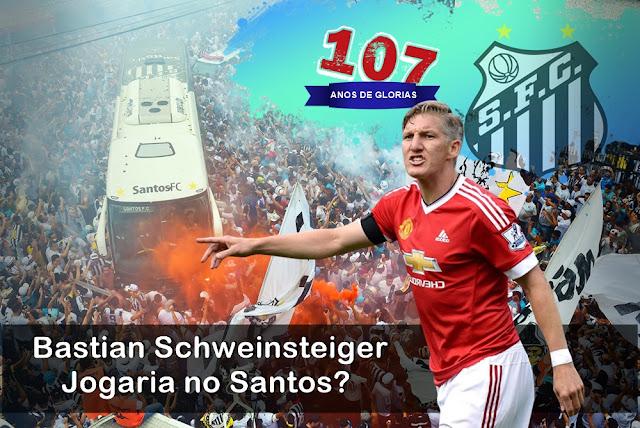 107 ANOS Bastian Schweinsteiger Jogaria no Santos - 17 Reforços para o melhor Santos de cada Época