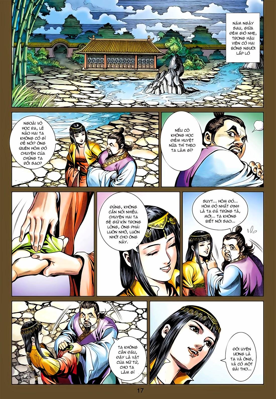 Anh Hùng Xạ Điêu anh hùng xạ đêu chap 77: thế thượng tối cường võ công trang 17