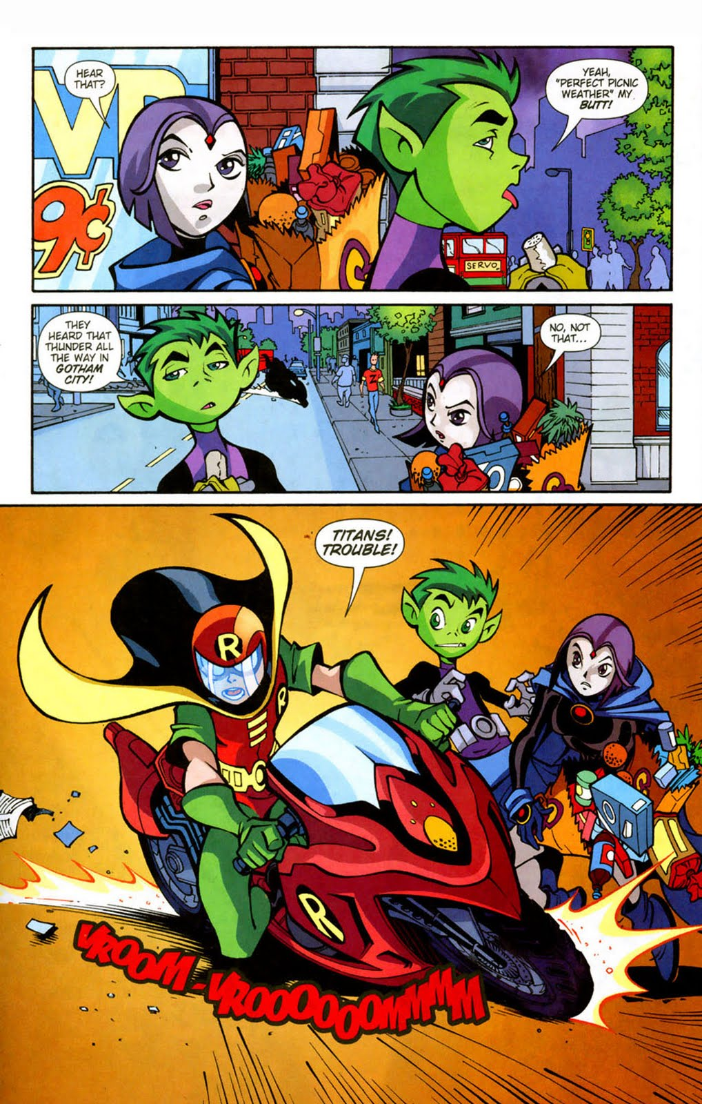 Go To Www Bing Comhella: Teen Titans GO!: #6 Storm