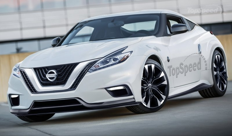 nissan z rendering topspeedcom Το επόμενο Nissan Z θα είναι ελαφρύτερο, μικρότερο και δίλιτρο