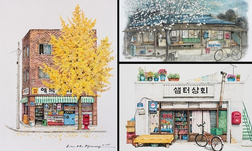 00-Me-Kyeoung-Leehas-Pencil-Drawings-of-Convenience-Stores-in-South-Korea-www-designstack-co