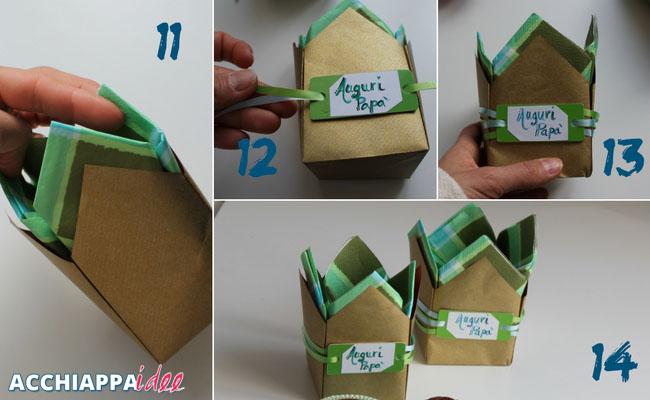 tutorial3 sacchetto origami festa del papà